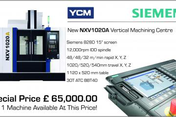 Incredible Offer On YCM NXV 1020 Siemens 828D Machining Centre