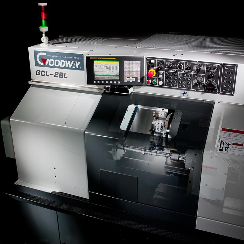 Superb Compact Used Goodway GCL-2BL CNC Lathe - NOW SOLD!