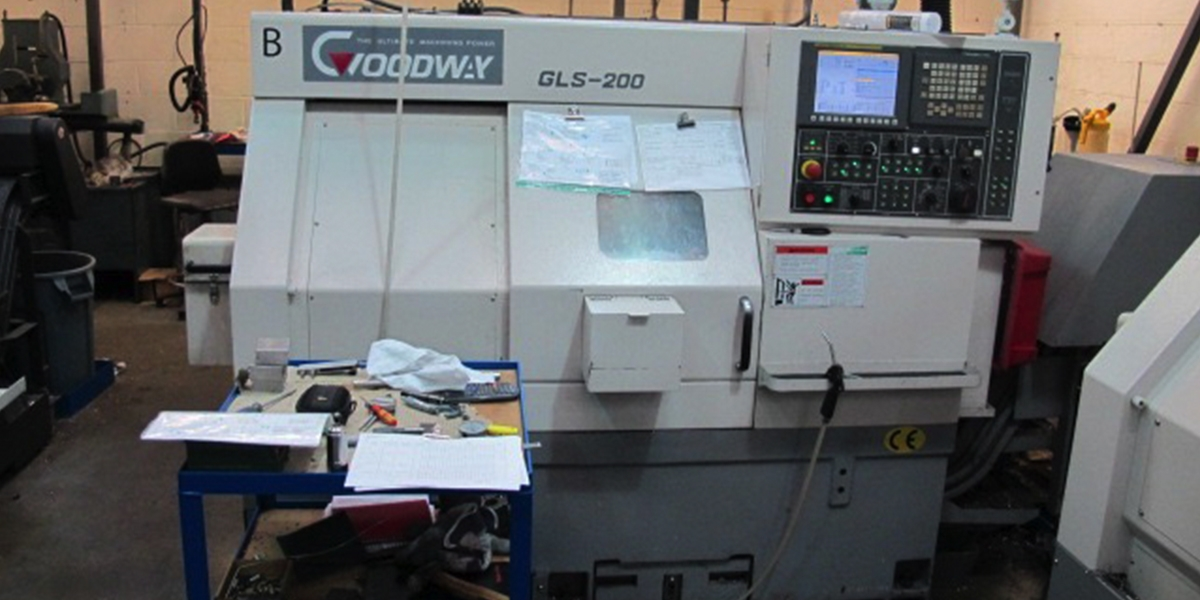 Used Goodway GLS200 (SOLD)