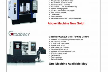 Ex Demonstration Machine Tools