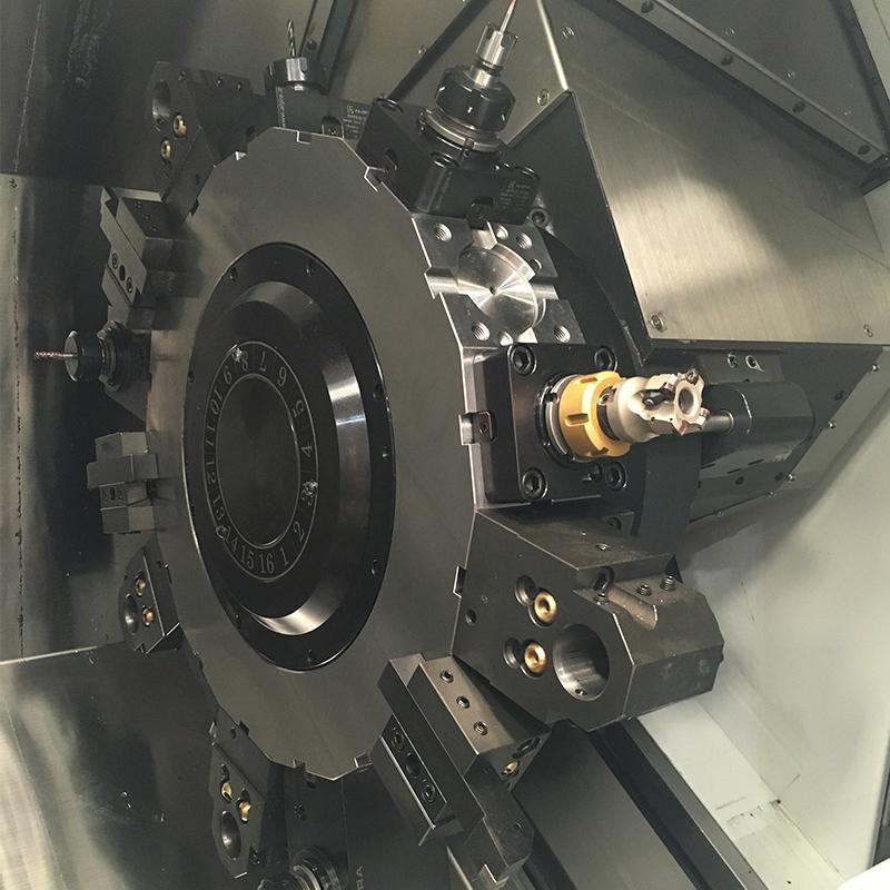 16 station live turret maximum capability