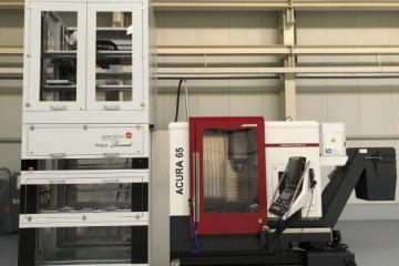 Brand New Hedelius Machining Centre And Erowa Automation Installation